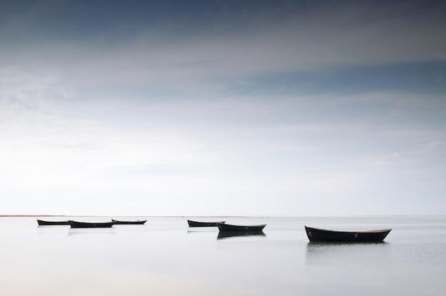 Pescherecci nel mare