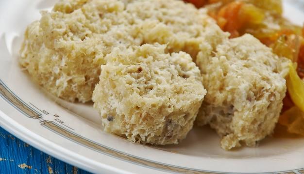 Fiskbullar - cibo comune nei paesi nordici, dove di solito sono fatti con merluzzo o eglefino.