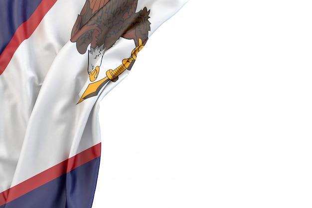 Bandiera delle samoa americane Foto Premium