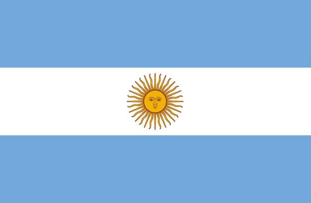 Bandiera dell'argentina