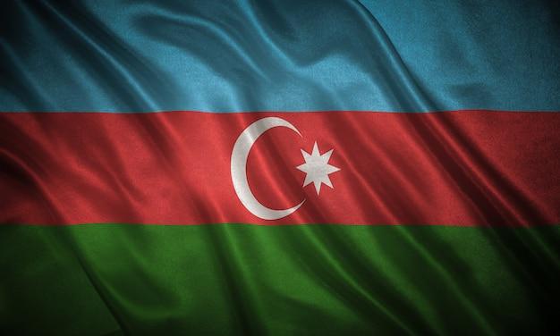 Bandiera dello sfondo dell'azerbaigian