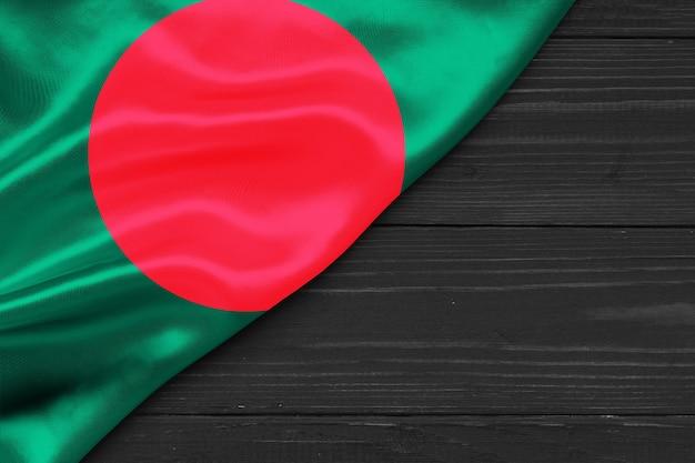 Bandiera del bangladesh copia spazio