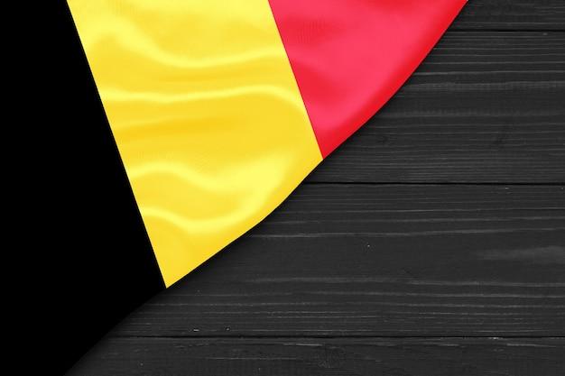 Bandiera del belgio copia spazio