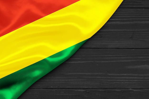 Bandiera della bolivia copia spazio