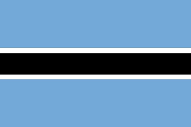 Bandiera del botswana