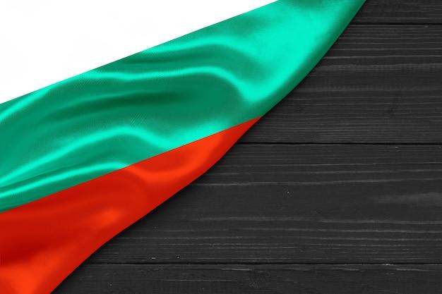 Bandiera della bulgaria copia spazio