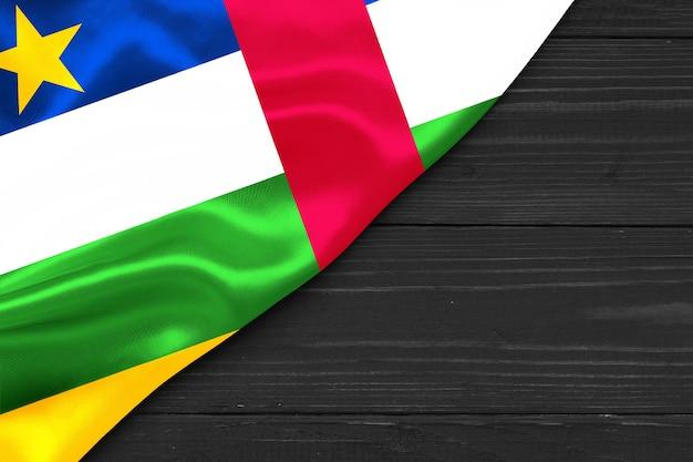 Bandiera della repubblica centrafricana copia spazio