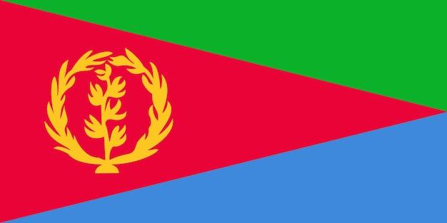 Bandiera dell'eritrea