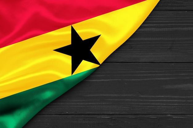Bandiera del ghana copia spazio