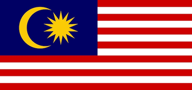 Bandiera della malesia