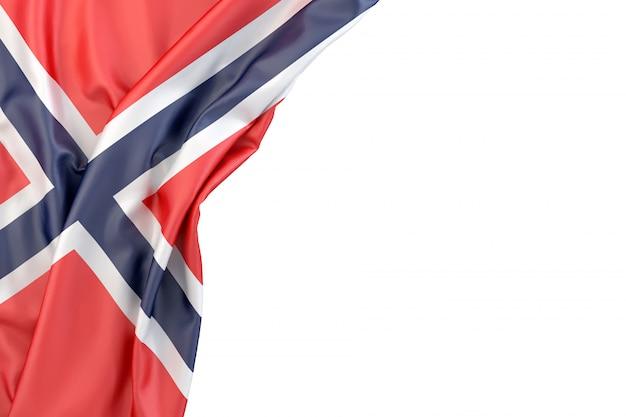 Bandiera della norvegia