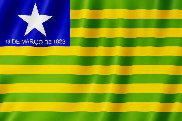 Bandiera di stato di piaui in brasile