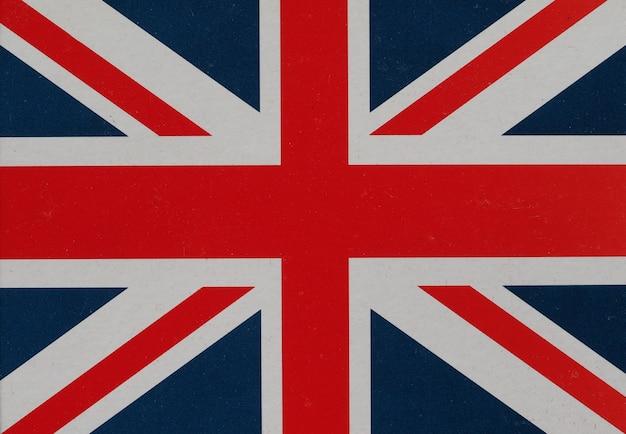 Bandiera del regno unito alias union jack