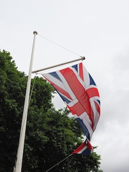 Bandiera del regno unito (uk) alias union jack