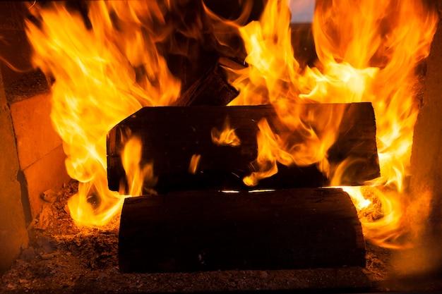 La fiamma del fuoco