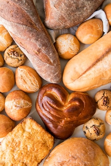 Mix di pane disteso