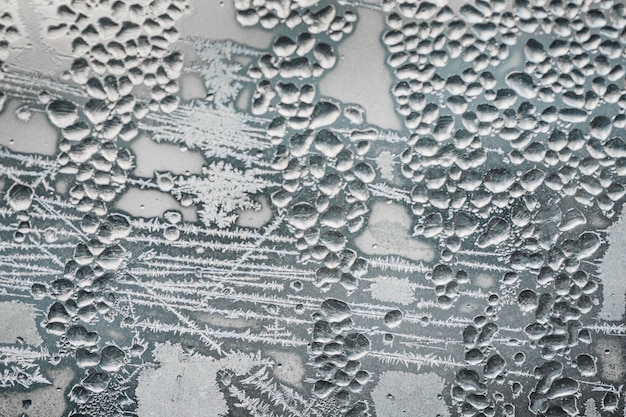 Carta da parati con superficie congelata piatta