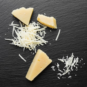 Parmigiano grattugiato piatto