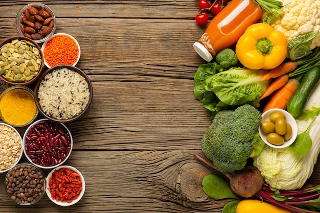 Scorri laici di generi alimentari con spezie