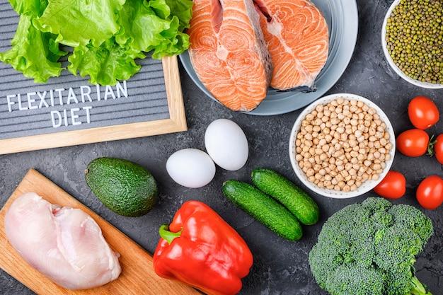 Vetegables e carni di dieta flessibile