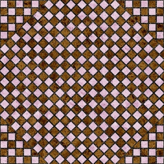Piastrelle per pavimenti. mosaico in marmo.