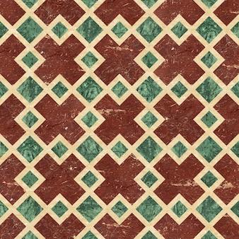 Piastrelle per pavimenti. mosaico in pietra naturale. piastrelle in marmo e granito. trama di sfondo