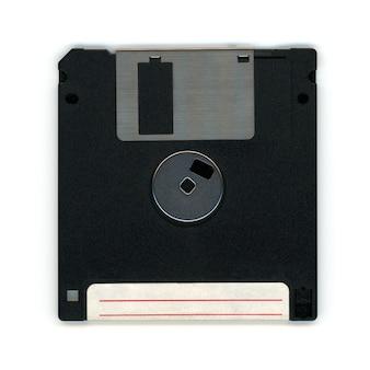 Floppy disc per pc, lato posteriore