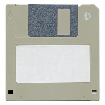 Disco floppy isolato