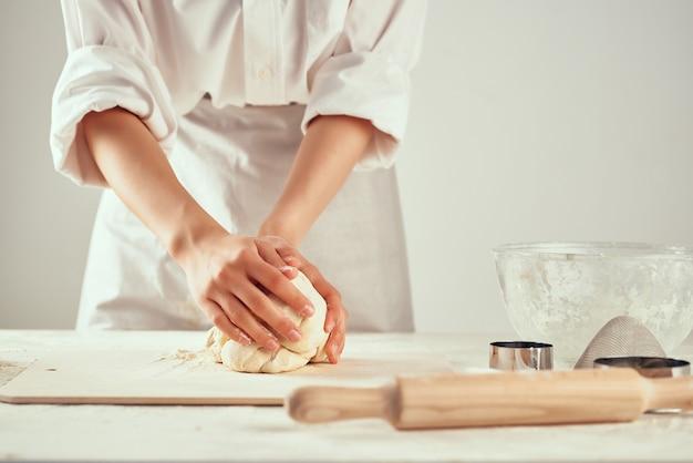 Farina cottura impasto panetteria cucina cibo