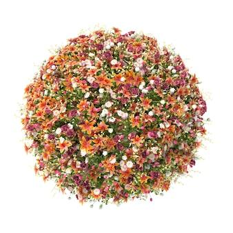 Palla fiore isolato