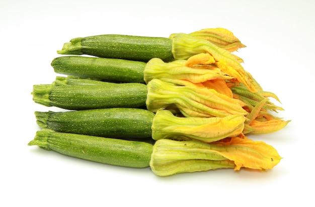 Zucchine fiorite