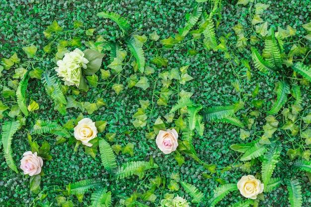 Muro di fiori