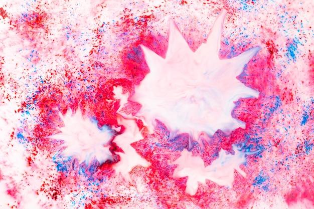 Arte fluida. struttura astratta rosa. modello in marmo liquido. priorità bassa astratta di struttura dell'inchiostro
