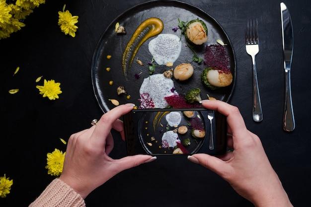 Food blogger cucina molecolare straordinaria