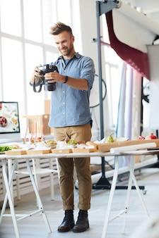 Food-photographer at work