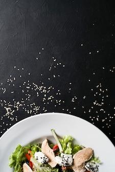 Fotografia di cibo sfondo concetto di stile di vita sano. nutrizione appropriata.