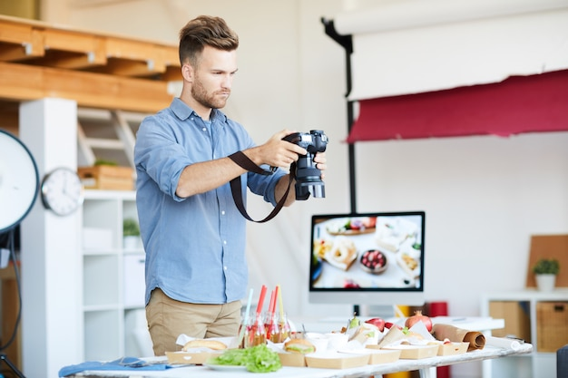 Ripresa di fotografia alimentare