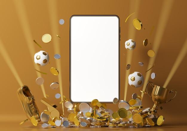 Scommessa smartphone calcio