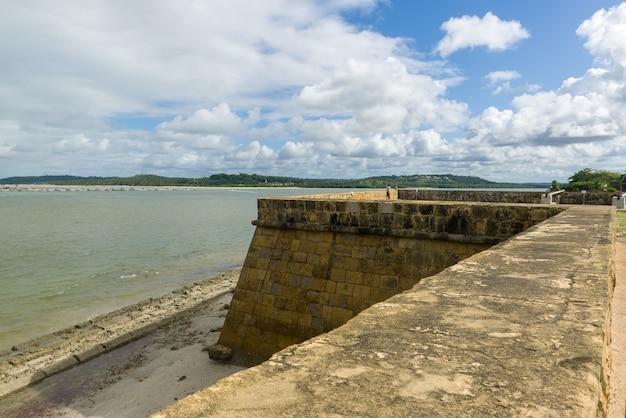 Fort orange, itamaraca, pernambuco, brasile il 25 luglio 2021.