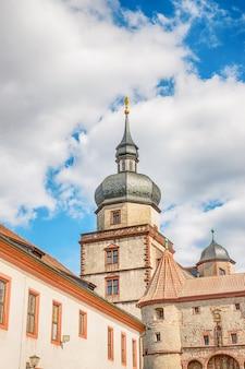Fortezza marienberg a würzburg in germania