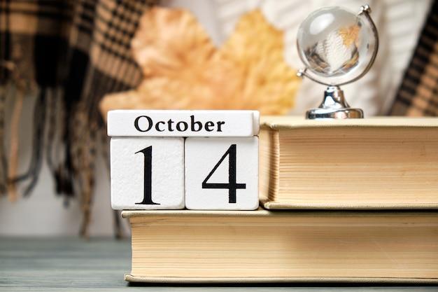 Quattordicesimo giorno del mese di autunno del calendario ottobre