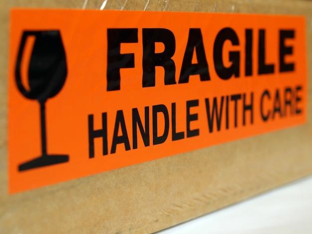 Fragile, maneggiare con cura