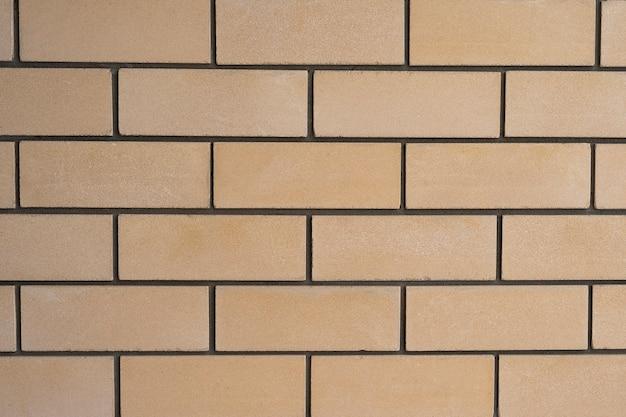 Frammento di una struttura e di un modello del muro di mattoni
