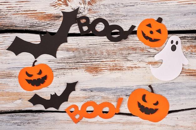 Telaio da sagome di carta di halloween.