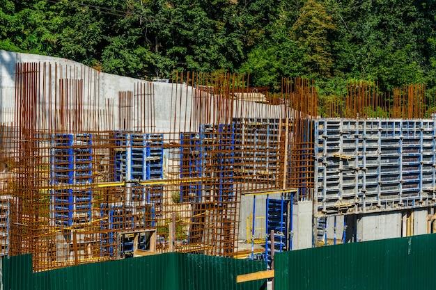 Quadro per il muro del nuovo edificio residenziale