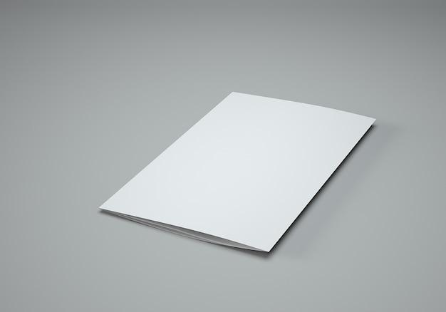 Mockup di brochure quadrata gratuita