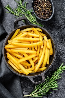 Patatine fritte in padella, patate fritte