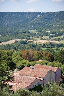 Vista della cittadina francese dall'alto