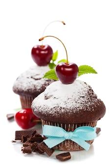 Muffin al cioccolato fresco