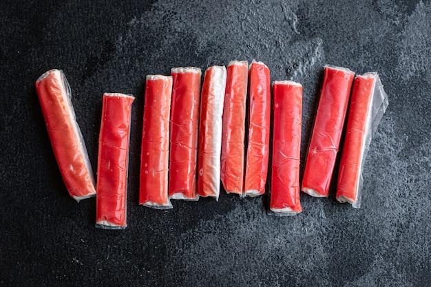 Fresco bastoncini di granchio pesce semilavorato pesce tritare dieta pescetarian
